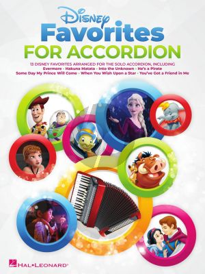 Disney Favorites for Accordion