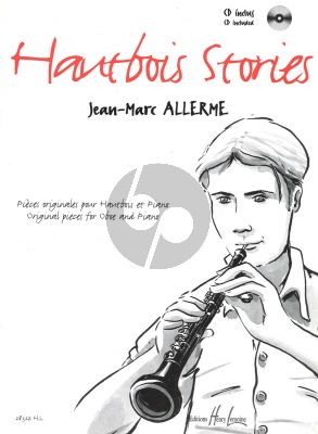 Allerme Hautbois stories Hautbois et Piano (Bk-Cd)