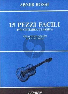 Rossi 15 Pezzi Facili Guitar