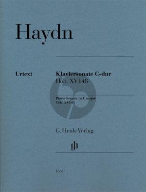 Haydn Sonata C-major Hob. XVI:48 Piano solo (Georg Feder)