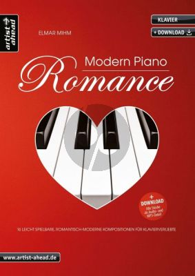 Mihm Modern Piano Romance (Book with Audio online)