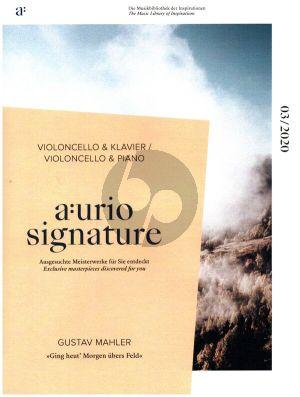 Mahler Ging heut' Morgen übers Feld für Violoncello und Klavier (transcr. Maximilian Hornung)