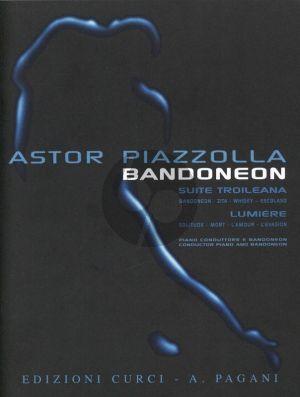Piazzolla Bandoneon Raccolta di 8 Brani per Bandoneon e Pianoforte