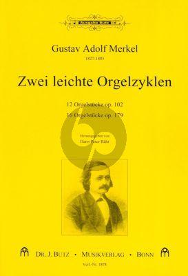 Merkel 2 Leichte Orgelzyklen (herausgegeben von Hans-Peter Bähr)