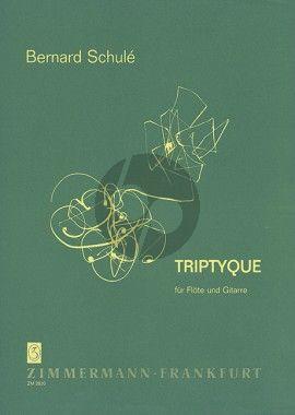 Schule Triptyque Op. 30 für Flöte und Gitarre