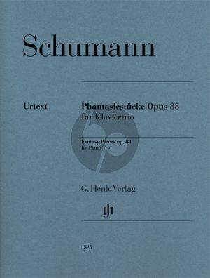 Schumann Fantasy Pieces Op. 88 for Violin-Violoncello and Piano (Ernst Herttrich)