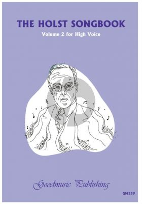 Holst The Holst Songbook Volume 2 High Voice