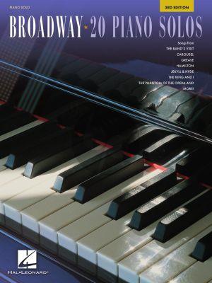 Broadway – 20 Piano Solos (Third edition)