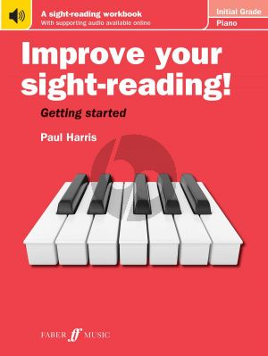 Harris Improve your sight-reading! Piano Initial Grade Piano solo (Book with Audio online)