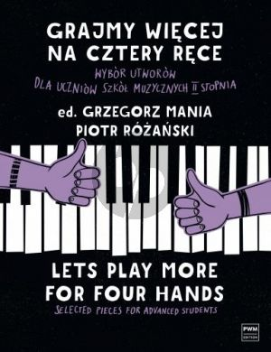 Mania Let's Play More for Four Hands