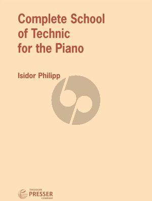 Philipp Complete School of Technic for The Piano