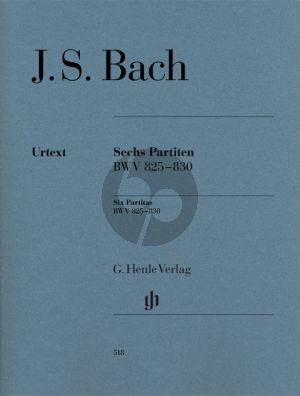 Bach 6 Partiten BWV 825 - 830 Klavier (Ullrich Scheideler)