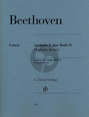 Beethoven Andante F-dur WoO 57 (Andante favori) Klavier (Joanna Cobb Biermann)