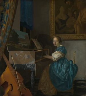 Carpenter Van Assendelfts Vermeer for Clavichord