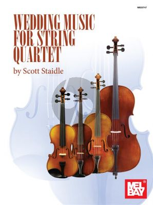 Wedding Music for String Quartet (Score/Parts) (edited by Scott Staidle)