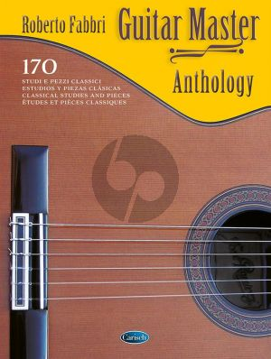 Guitar Master Anthology (170 classical Studies and Pieces) (edited by Roberto Fabbri)
