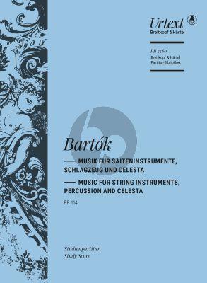 Bartok Musik für Saiteninstrumente, Schlagzeug und Celesta BB 114 (Studienpartitur) (herausgegeben von Hartmut Fladt)