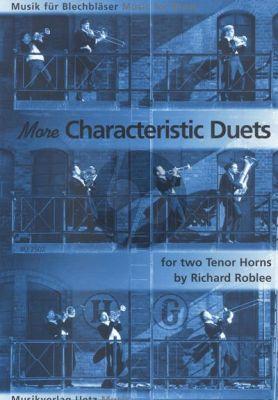 Roblee More characteristic Duets für 2 Tenorhörner (Spielpartitur)