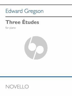Gregson 3 Etudes for Piano