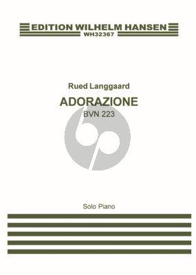 Langgaard Adorazione BVN 223 Piano solo (1934)