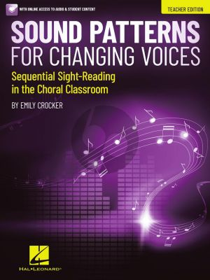 Crocker Sound Patterns for Changing Voices Teacher edition (Sequential Sight-Reading in the Choral Classroom) (Book with Audio online)