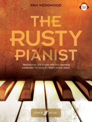 Wedgwood The Rusty Pianist Piano solo Book with Audio online