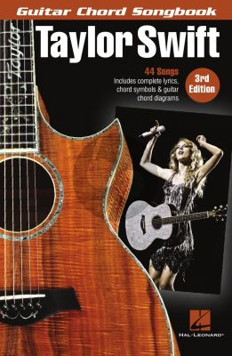 Taylor Swift – Guitar Chord Songbook (3rd. edition)