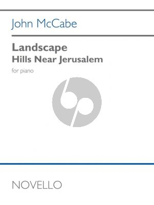 McCabe Landscape - Hills near Jerusalem Piano solo