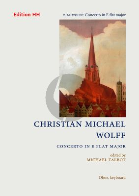 Wolff Concerto E-flat major Oboe-Strings Bc (piano reduction) (edited by Michael Talbot)