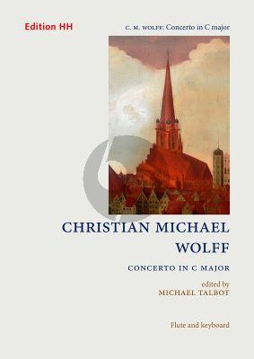 Wolff Concerto C-major Flute-Strings-Bc (piano reduction) (edited by Michael Talbot)