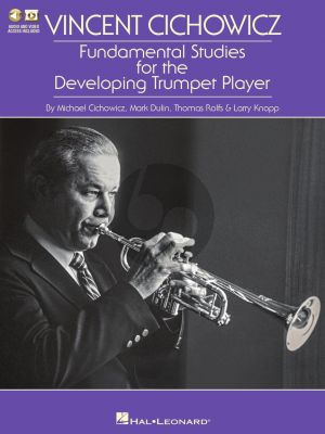 Cichowicz Fundamental Studies for the Developing Trumpet Player (Book with Audio online)
