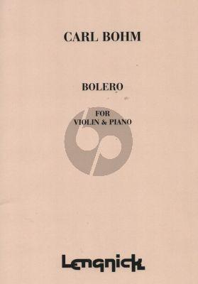 Bohm Bolero Violin and Piano