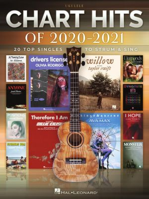 Chart Hits of 2020-2021 Ukulele (20 Top Singles)