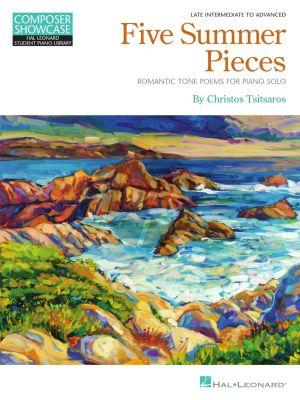 Tsitsaros Five Summer Pieces for Piano (Romantic Tone Poems)