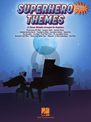 Superhero Themes for Piano (14 Heroic Melodies for Beginners)