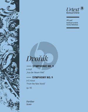 Dvorak Symphonie No. 9 Op. 95 Studienpartitur (Aus der Neuen Welt) (Christian Rudolf Riedel)