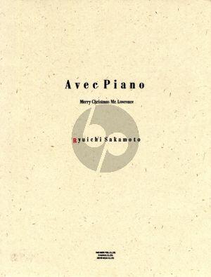 Sakamoto Avec Piano 'Merry Christmas Mr. Lawrence' Piano solo