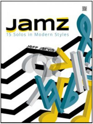 Jarvis Jamz - 15 Solos in Modern Styles for Alto- or Baritone Saxophone (Book with Audio online)