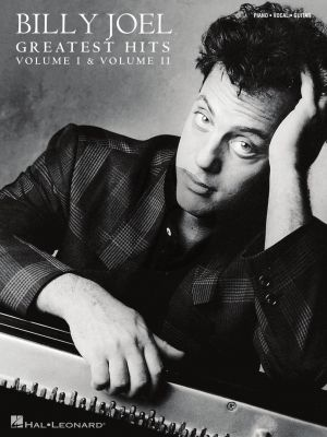 Billy Joel – Greatest Hits, Volume I & II (Piano-Vocal-Guitar) (edited by David Rosenthal)