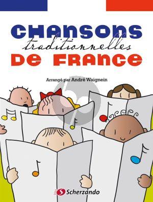 Chansons traditionnelles de France Violin and Piano (Bk-Cd) (Andre Waignein)