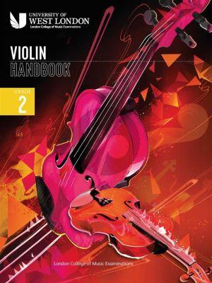 London College of Music Violin Handbook 2021 Grade 2