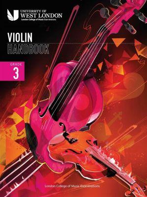 London College of Music Violin Handbook 2021 Grade 3