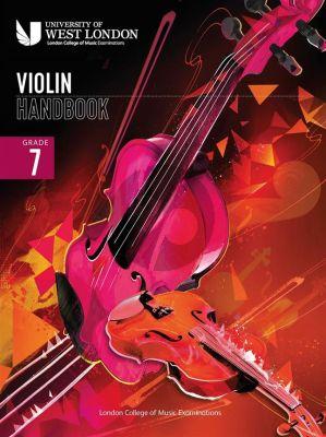 London College of Music Violin Handbook 2021 Grade 7