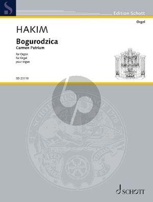 Hakim Bogurodzica Orgel (Carmen patrium)