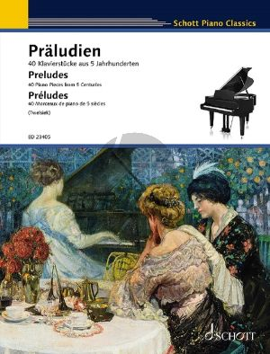 Preludes for Piano solo (40 Pieces from 5 Centuries) (Monika Twelsiek)