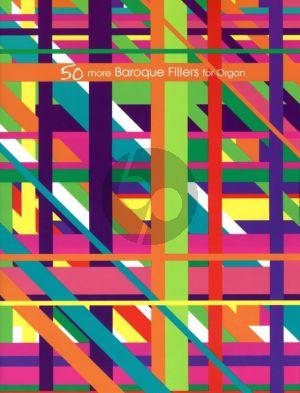Album 50 More Baroque Fillers for Organ