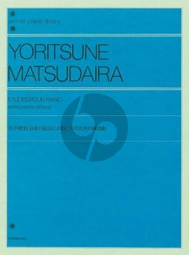 Matsudaira Etudes d'après modes japonais Piano solo