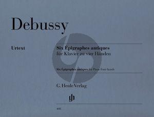Debussy 6 Epigraphes Antiques (Henle-Urtext)