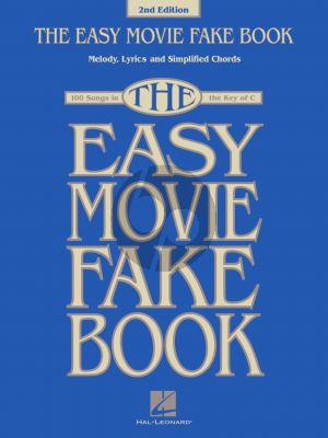 The Easy Movie Fake Book C Instruments (2nd. edition)