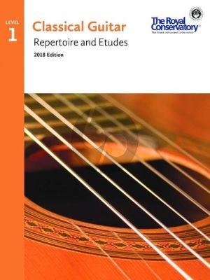 Album Classical Guitar Repertoire and Etudes Vol.1 (2018 Edition)